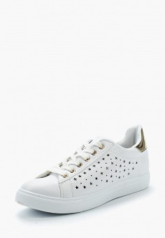Кеды, Girlhood, цвет: белый. Артикул: GI021AWBCZN5. Обувь / Кроссовки и кеды / Кеды