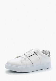 Кеды, Girlhood, цвет: белый. Артикул: GI021AWBERS3. Обувь / Кроссовки и кеды / Кеды