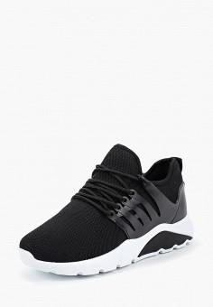 Кроссовки, Girlhood, цвет: черный. Артикул: GI021AWBRIE2. Обувь