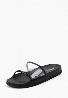 Сабо, Girlhood, цвет: черный. Артикул: GI021AWBRIG6. Обувь