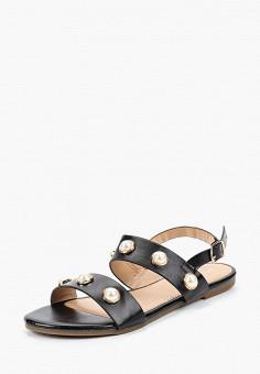 Сандалии, Girlhood, цвет: черный. Артикул: GI021AWBRIM5. Обувь