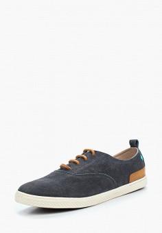Кеды, Gioseppo, цвет: синий. Артикул: GI022AMAFIC4. Обувь / Кроссовки и кеды / Кеды
