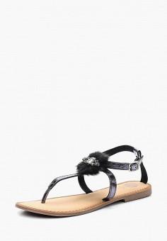 Сандалии, Gioseppo, цвет: черный. Артикул: GI022AWAFDP5. Обувь / Сандалии