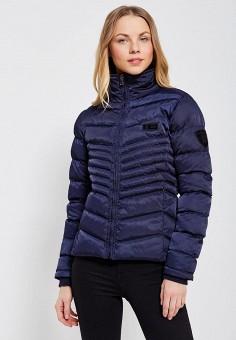 Куртка утепленная, Giorgio Di Mare, цвет: синий. Артикул: GI031EWZFD83. Одежда / Верхняя одежда