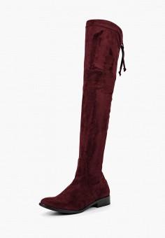 Ботфорты, Giorgio Costa, цвет: бордовый. Артикул: GI035AWBSYD7. Обувь