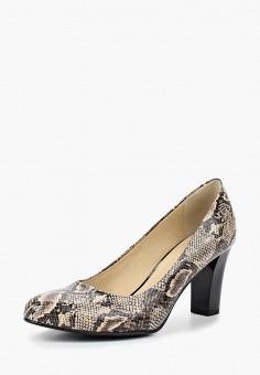 Туфли, Giorgio Costa, цвет: коричневый. Артикул: GI035AWBSYE7. Обувь / Туфли / Закрытые туфли