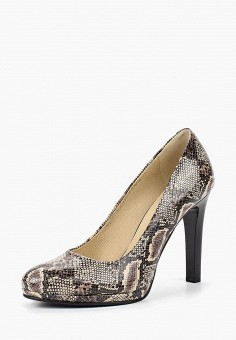 Туфли, Giorgio Costa, цвет: бежевый. Артикул: GI035AWBSYE9. Обувь / Туфли / Закрытые туфли