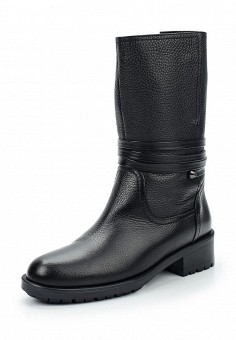 Полусапоги, Giotto, цвет: черный. Артикул: GI514AWWHA30. Обувь / Сапоги