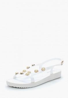 Сандалии, GLAMforever, цвет: белый. Артикул: GL854AWAPLQ5. Обувь