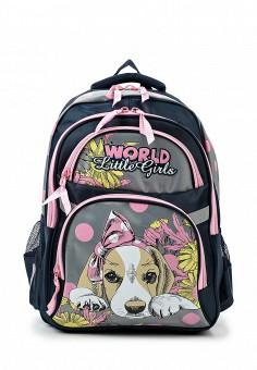 Рюкзак grizzly зебра серый волк 28444 рюкзак одноклассник
