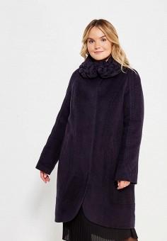 Пальто, Grand Madam, цвет: синий. Артикул: GR019EWXEZ55. Одежда / Верхняя одежда