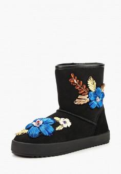Полусапоги, Grand Style, цвет: черный. Артикул: GR025AWCPLN8. Обувь