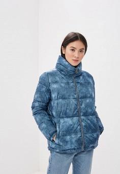 Куртка утепленная, Grishko, цвет: синий. Артикул: GR371EWANHU2. Одежда / Верхняя одежда / Демисезонные куртки