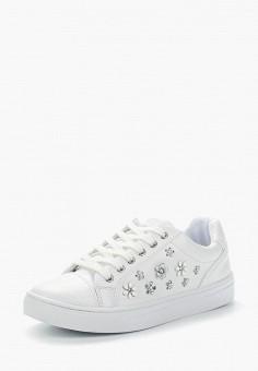Кеды, Guess, цвет: белый. Артикул: GU460AWZTV85. Обувь