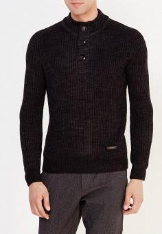 Свитер, H:Connect, цвет: черный. Артикул: HC002EMVEH37. Одежда / Джемперы, свитеры и кардиганы