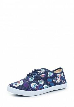 Кеды, HCS, цвет: синий. Артикул: HC077AWQTU27. Обувь / Кроссовки и кеды