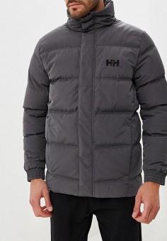 Пуховик, Helly Hansen, цвет: серый. Артикул: HE012EMCJRN8. Одежда / Верхняя одежда / Пуховики и зимние куртки