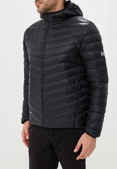 Пуховик, Helly Hansen, цвет: черный. Артикул: HE012EMCJRO1. Одежда / Верхняя одежда / Пуховики и зимние куртки