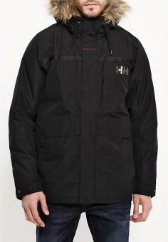 Парка, Helly Hansen, цвет: черный. Артикул: HE012EMLTD08. Одежда / Верхняя одежда / Пуховики и зимние куртки