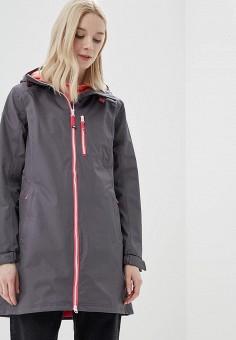 Куртка, Helly Hansen, цвет: серый. Артикул: HE012EWASQT3. Одежда / Верхняя одежда / Легкие куртки и ветровки