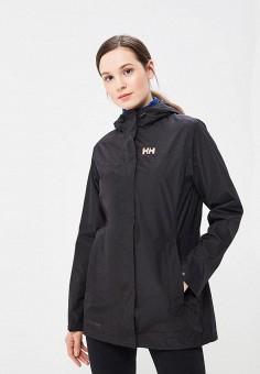 Куртка, Helly Hansen, цвет: черный. Артикул: HE012EWASQW6. Одежда / Верхняя одежда / Легкие куртки и ветровки