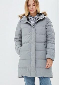 Пуховик, Helly Hansen, цвет: серый. Артикул: HE012EWCJRF0. Одежда / Верхняя одежда / Зимние куртки