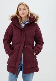 Куртка утепленная, Helly Hansen, цвет: бордовый. Артикул: HE012EWCJRF6. Одежда / Верхняя одежда / Зимние куртки