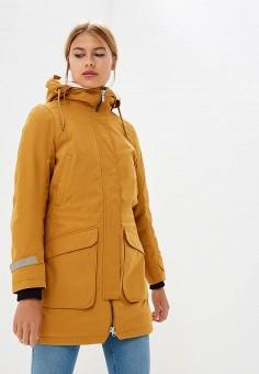 Парка, Helly Hansen, цвет: коричневый. Артикул: HE012EWCJRH4. Одежда / Верхняя одежда / Парки