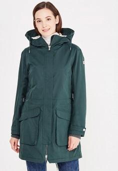 Парка, Helly Hansen, цвет: зеленый. Артикул: HE012EWWOF82. Одежда / Верхняя одежда