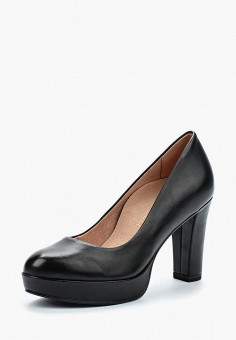Туфли, Heart & Sole by Tamaris, цвет: черный. Артикул: HE018AWAGOB0. Обувь / Туфли / Закрытые туфли