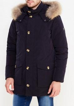 Пуховик, Hetrego, цвет: синий. Артикул: HE832EMVIV43. Одежда / Верхняя одежда / Пуховики и зимние куртки