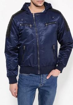 Куртка утепленная, Hopenlife, цвет: синий. Артикул: HO012EMPTZ03. Одежда / Верхняя одежда / Пуховики и зимние куртки