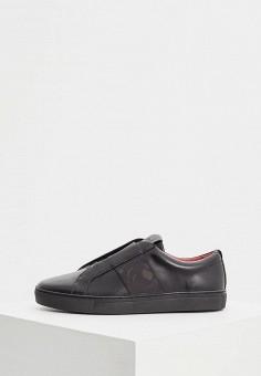 Кеды, Hugo Hugo Boss, цвет: черный. Артикул: HU286AMBWTS5. Обувь / Кроссовки и кеды / Кеды