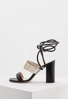 Босоножки, iBlues, цвет: черный. Артикул: IB001AWAKWU4. Premium / Обувь / Босоножки