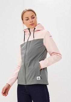 Ветровка, Icepeak, цвет: серый. Артикул: IC647EWAUFS4. Одежда / Верхняя одежда / Легкие куртки и ветровки