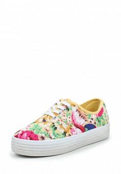 Кеды, Ideal Shoes, цвет: мультиколор. Артикул: ID005AWPSL64. Обувь / Кроссовки и кеды