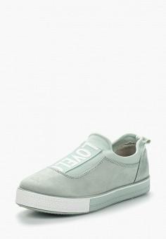 Кеды, Ideal Shoes, цвет: зеленый. Артикул: ID007AWBADN4. Обувь / Кроссовки и кеды / Кеды