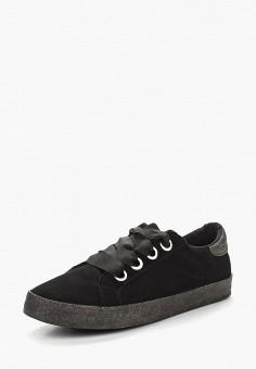 Кеды, Ideal Shoes, цвет: черный. Артикул: ID007AWBAPY7. Обувь / Кроссовки и кеды / Кеды