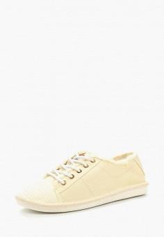 Кеды, Ideal Shoes, цвет: бежевый. Артикул: ID007AWBAQA4. Обувь / Кроссовки и кеды / Кеды