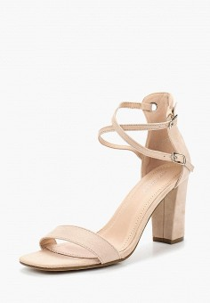 Босоножки, Ideal Shoes, цвет: бежевый. Артикул: ID007AWBQAC6. Обувь / Босоножки