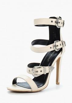 Босоножки, Ideal Shoes, цвет: бежевый. Артикул: ID007AWBQAE8. Обувь / Босоножки