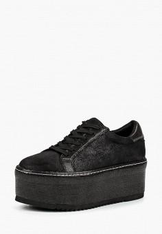 Кеды, Ideal Shoes, цвет: черный. Артикул: ID007AWCMKX1. Обувь / Кроссовки и кеды / Кеды