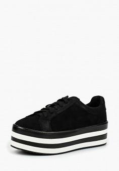 Кеды, Ideal Shoes, цвет: черный. Артикул: ID007AWCMKX8. Обувь / Кроссовки и кеды / Кеды