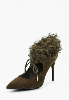 Туфли, Ilvi, цвет: зеленый. Артикул: IL004AWAGZF0. Обувь / Туфли / Закрытые туфли