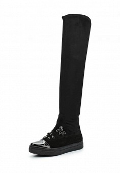 Ботфорты, Ilvi, цвет: черный. Артикул: IL004AWWET97. Обувь / Сапоги