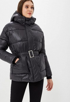 Куртка утепленная, Imocean, цвет: черный. Артикул: IM007EWCQFW7. Одежда / Верхняя одежда / Зимние куртки