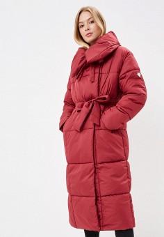 Куртка утепленная, Imocean, цвет: бордовый. Артикул: IM007EWCQFY2. Одежда / Верхняя одежда / Зимние куртки