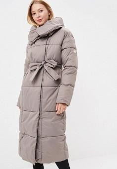 Куртка утепленная, Imocean, цвет: бежевый. Артикул: IM007EWCQFY4. Одежда / Верхняя одежда / Зимние куртки