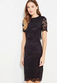 Инсити платье черное с кружевом