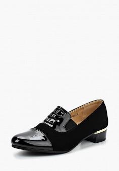 Туфли, Instreet, цвет: черный. Артикул: IN011AWAECZ5. Обувь / Туфли / Закрытые туфли
